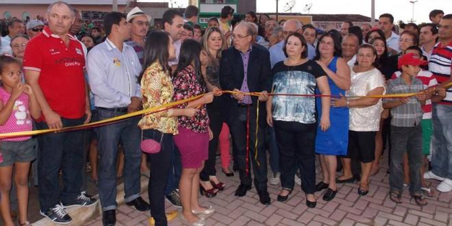 Praça da Criança Ana Letícia de Andrade Silva é inaugurada
