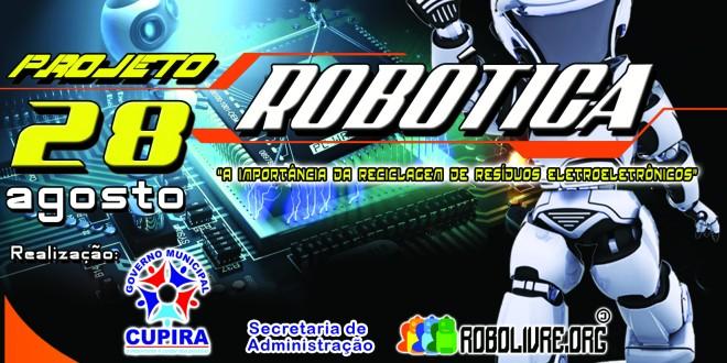 Implantação do Projeto Robótica