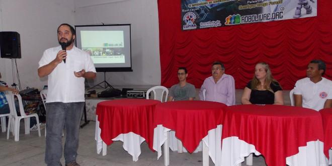 Palestra de apresentação do Projeto Robôtica Foi um sucesso!