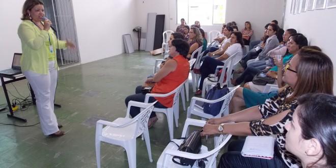 A SMDS  Promoveu nesta manhã, mais uma capacitação aos servidores da ação social