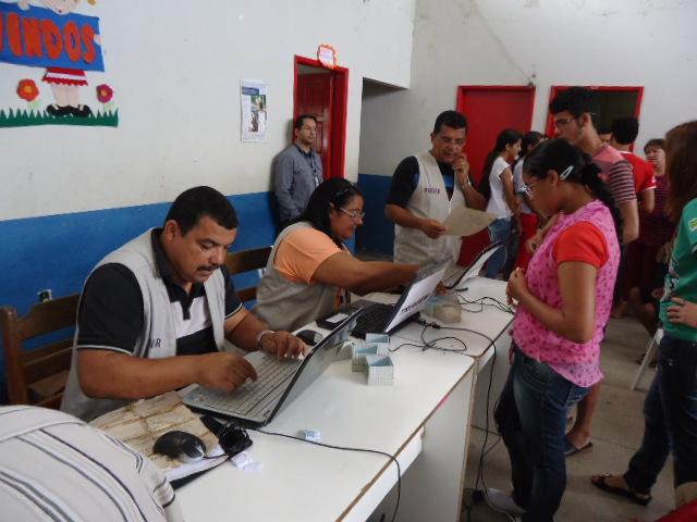 Agentes da Superintendência regional de Pernambuco (SR – PE) (Foto: Alesson Vinícius - Ascom/PMC/