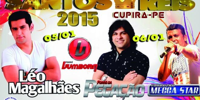 Festividades de Santos Reis 2015, Programação Oficial