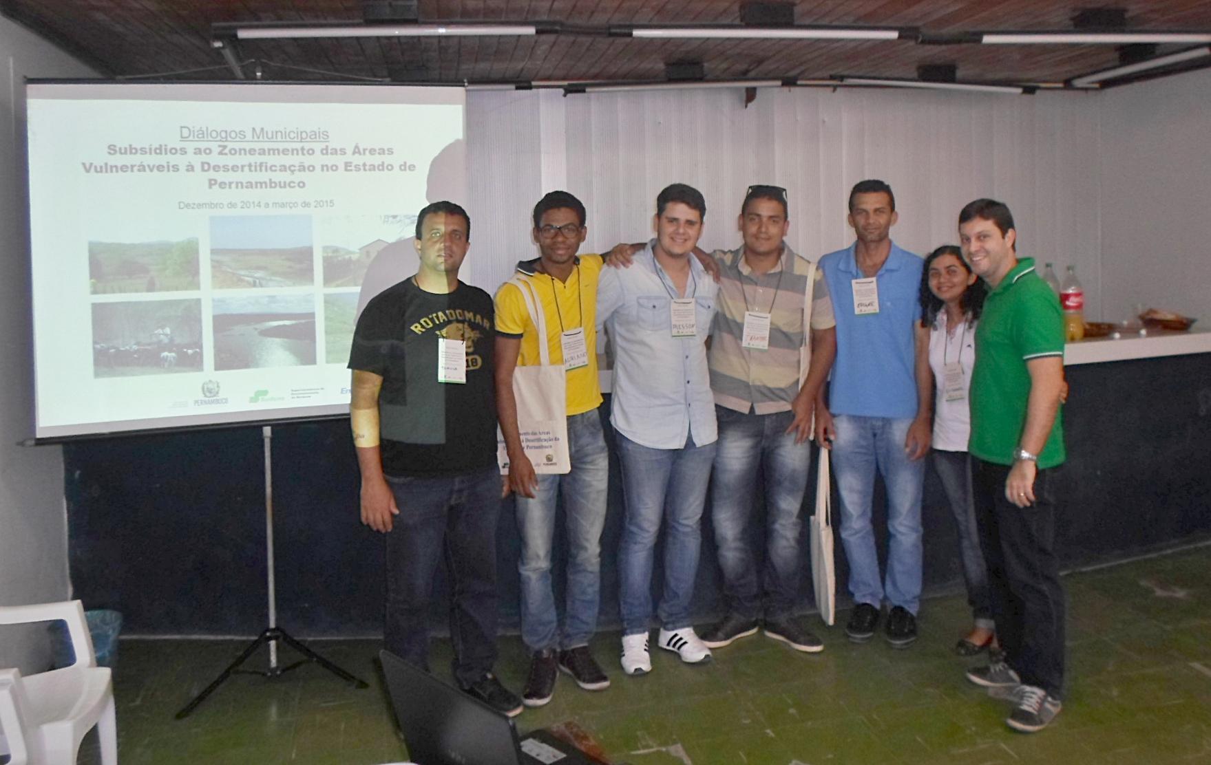 Seminário: Zoneamento das Áreas vulneráveis à Desertificação no Estado de Pernambuco