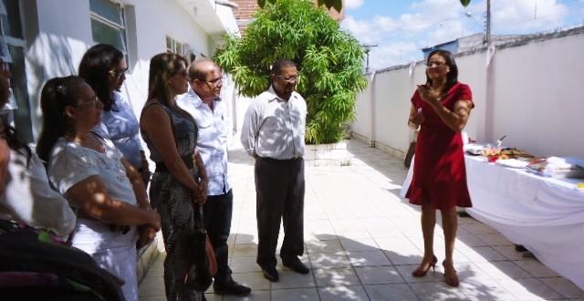 Café da manhã de boas-vindas para a mais nova secretária de Educação, Rosângela Neves de Andrade