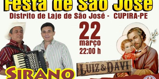 Tradicional Festa Laje de São José