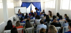 Secretaria de desenvolvimento social recebe capacitação, pelo órgão estadual