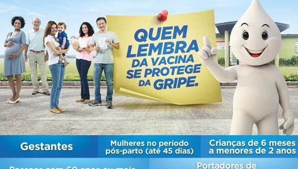 Campanha contra a gripe, 2015