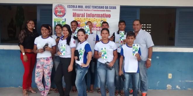 Escola Municipal José Tenciano da Silva participou do Programa Internacional de Avaliação de Estudantes –PISA
