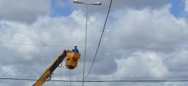Revitalização na iluminação da Av. Miguel Pereira Neto