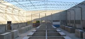 Avanços na obra de construção do açougue público Novo Horizonte
