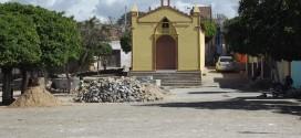 obras da Praça vila gravatá- Açu