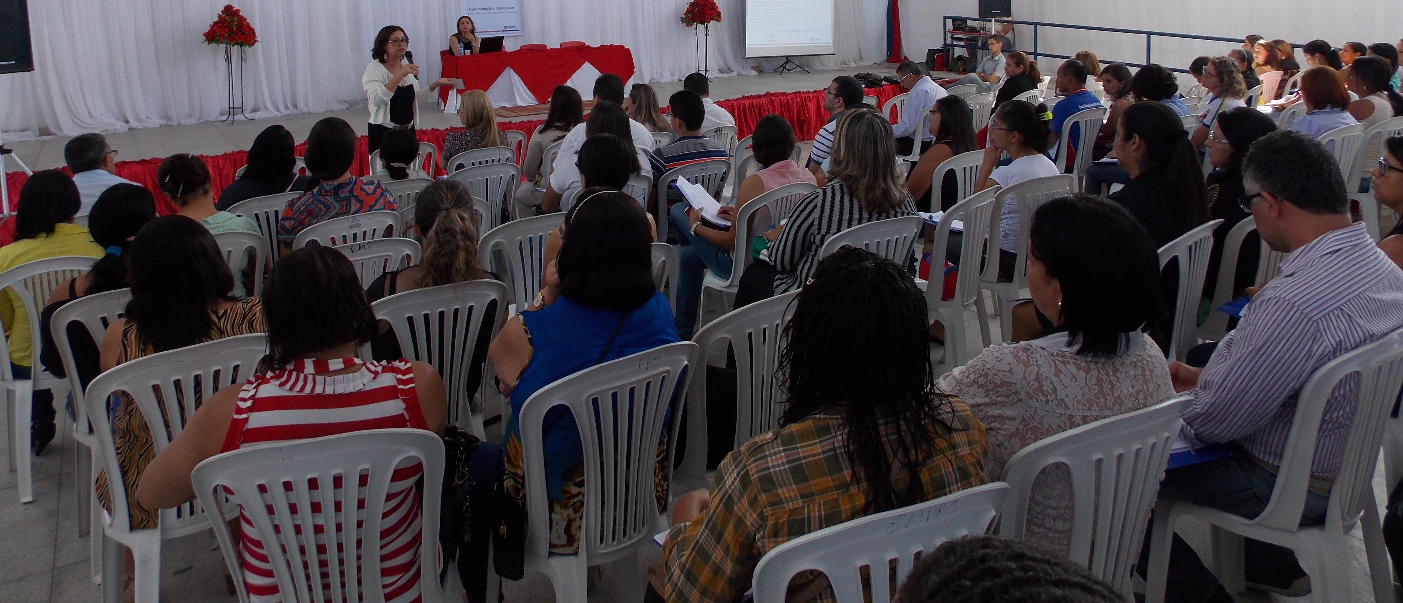 I Fórum Municipal de Educação (Foto: Adelino Silva - Ascom/PMC)