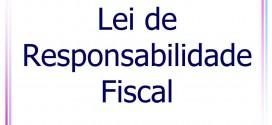 Nota de esclarecimento referente à lei de responsabilidade fiscal