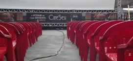 Preparativos para o  CineSesi Cultural – Cupira