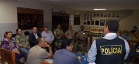 Reunião para discutir e lançar propostas para promover à segurança pública