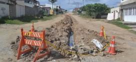 Em parceria, prefeitura e compesa iniciam encanação para Loteamento Santa Elisa