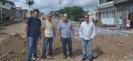 Infraestrutura inicia pavimentação na Av. Alfredo Gregório