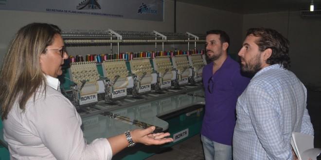 Representantes da AD DIPER realiza visita técnica ao CVT (Centro Vocacional Tecnológico)