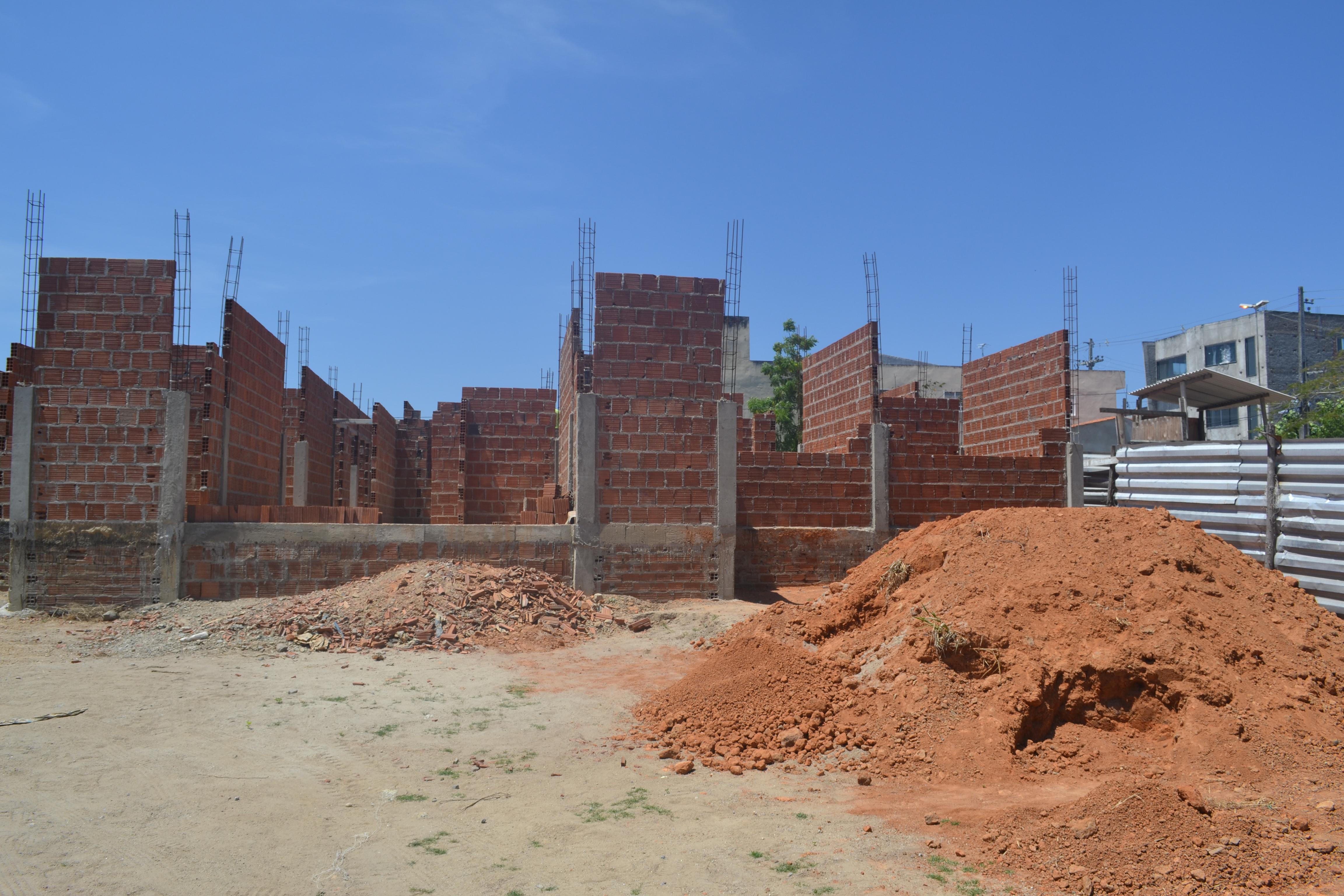 Construção da UBS Etelvino lins em Andamento