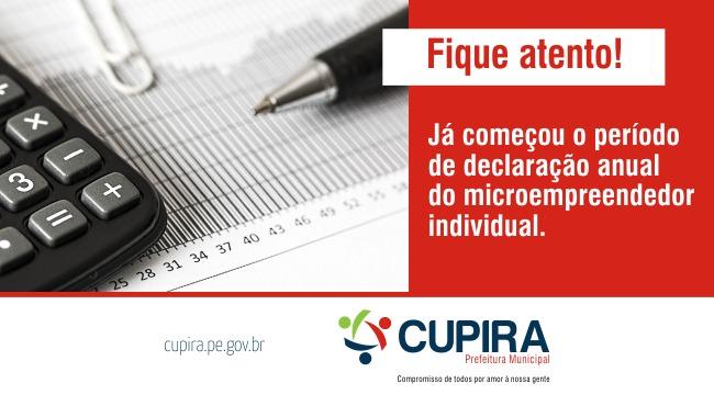 Começou Período de Declaração Anual do Microempreendedor Individual