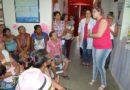 Comemorações do dia Inter. da Mulher nas unidades de saúde
