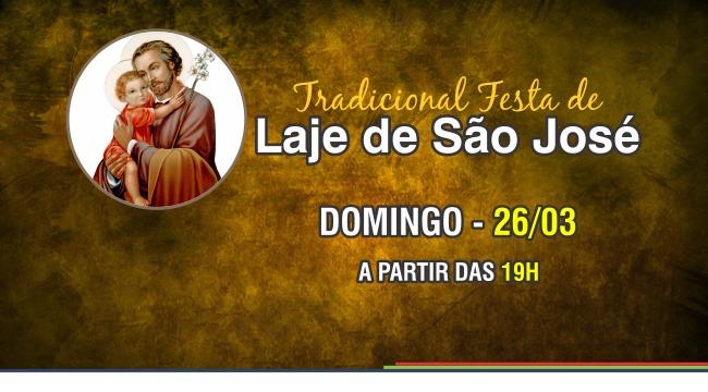 Festa do Distrito de Laje de São José 2017