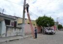 Sinfra faz manutenção na iluminação pública