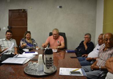 Prefeito realiza reunião mensal com o Staff Administrativo