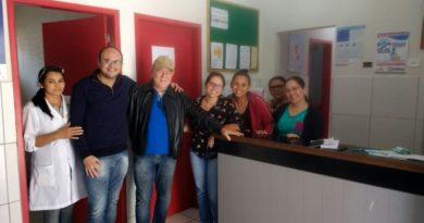 Prefeito José Maria visita unidades de saúde