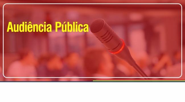 Participe da audiência de planejamento financeiro para o próximo quadriênio 2018 – 2021