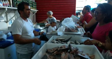 O Peixe comercializado em Cupira é destaque pela qualidade e preço acessível