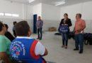 Agentes comunitários de saúde recebem kit auxiliar de trabalho