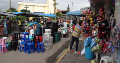 A feira Livre, realizada nas quartas-feiras, é regularizada