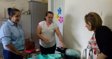 """Assessora Técnica do programa """"Criança Agora"""" visita creches cupirenses"""