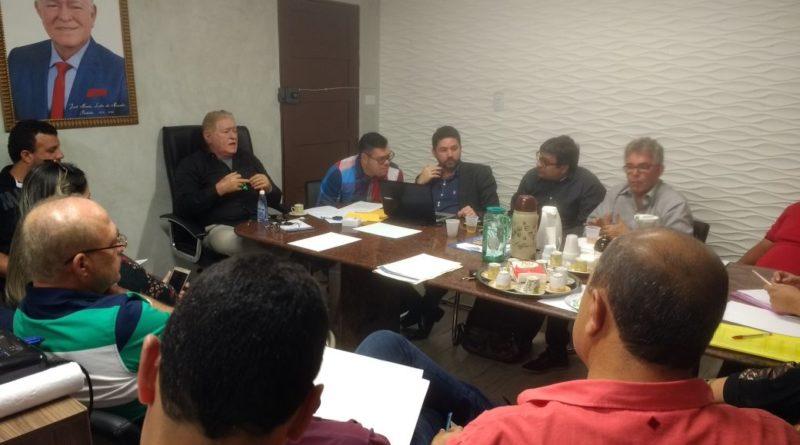 O Prefeito José Maria realiza 8ª reunião com o secretariado municipal