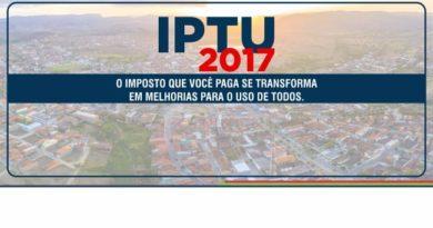 O carnê do IPTU 2017 está sendo entregue na sua residência