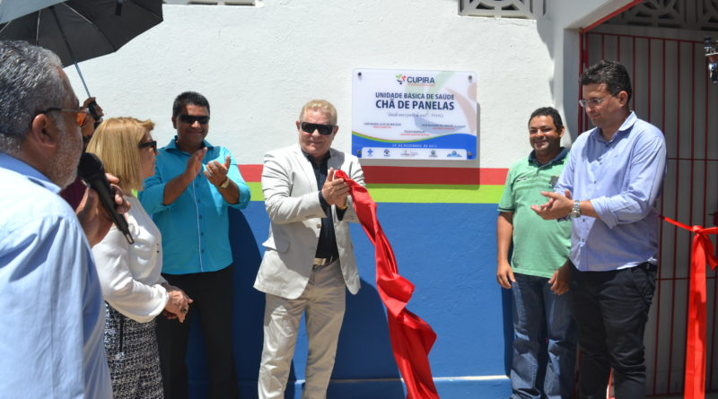 Três unidades de saúde são inauguradas no aniversário de emancipação política