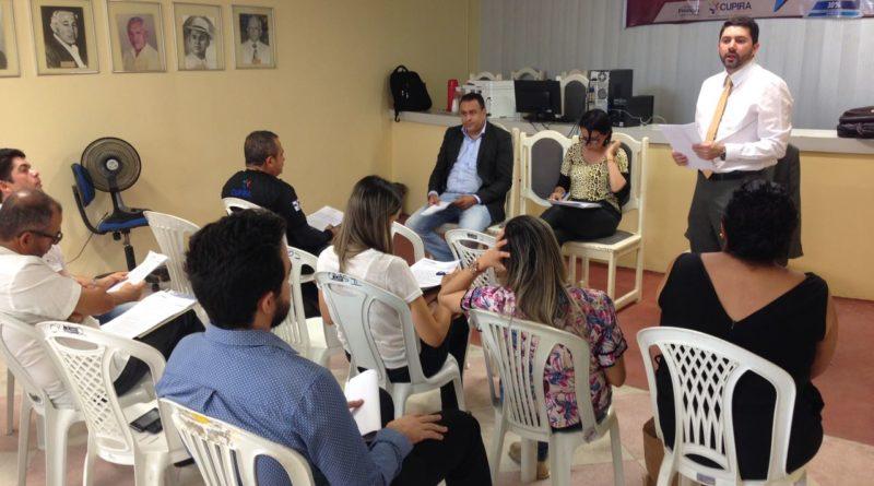O Conselho Municipal de Segurança Pública realiza mais uma reunião com a sociedade organizada
