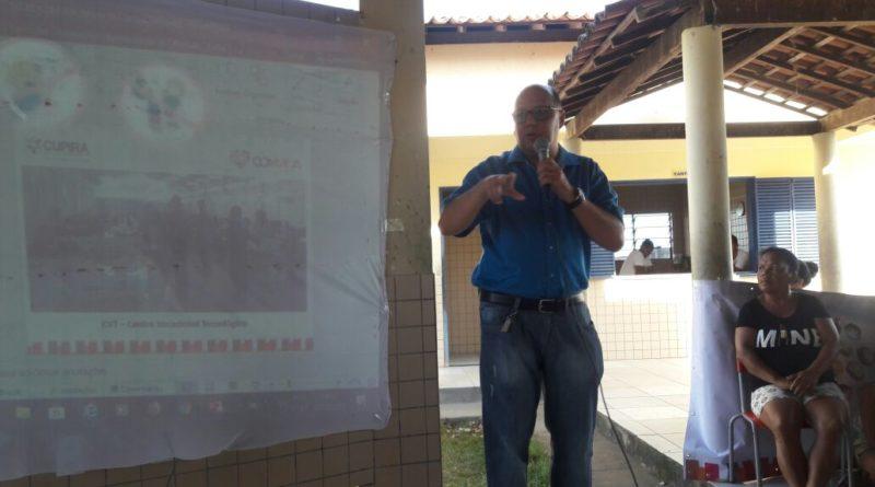 """O projeto """"COMVIDA"""" realiza primeira audiência pública no setor 01"""