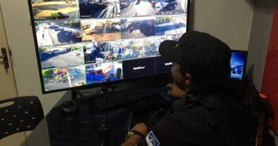 Câmeras de monitoramento são instaladas nas vias públicas da cidade