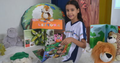 Thainara Gabrieli é campeã do Concurso Ler Bem 2018