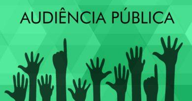 Audiência pública sobre revisão da PPA, LDO e LOA será nessa terça 24