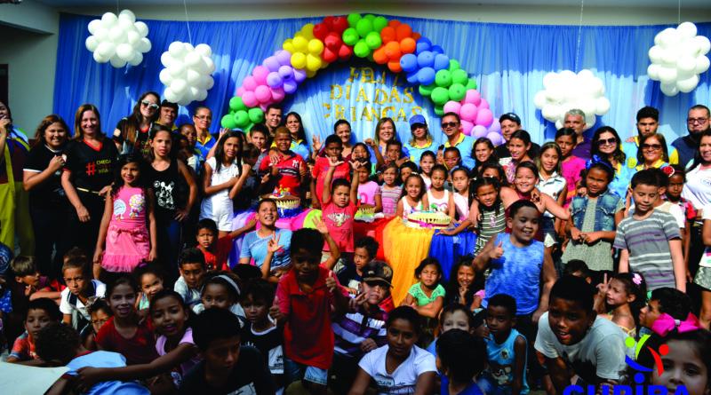 Programas sociais CRAS, SCFV, AEPETI e Criança Feliz comemoram o dia das crianças