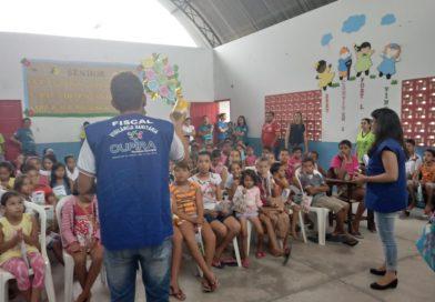 Vigilância sanitária desenvolve tabuleiro educativo para crianças
