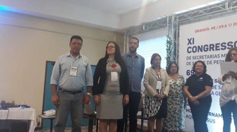 Cupira participa do XI Congresso de Secretarias Municipais de Saúde de PE