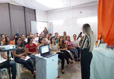 Servidores do Hospital José Veríssimo de Souza participam de treinamento motivacional