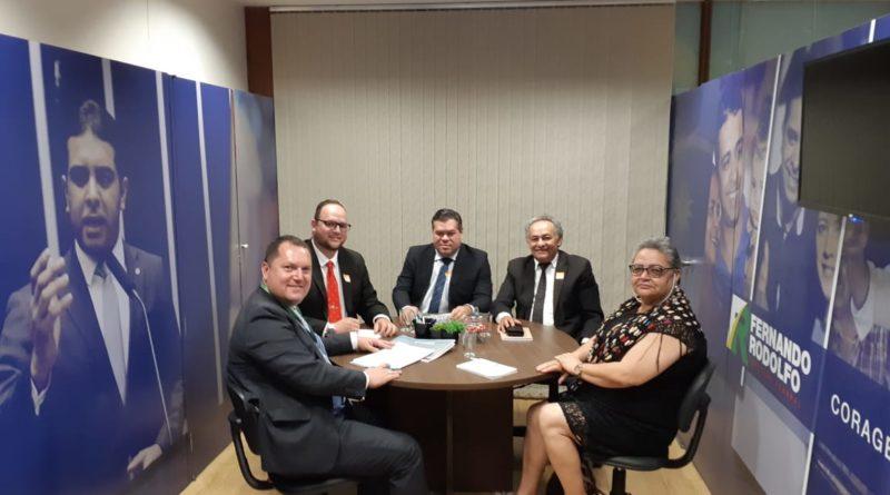 Staff do município viaja a Brasília para capitação de recursos e demais investimentos para Cupira