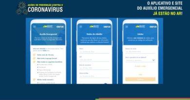 Aplicativo e site do Auxílio Emergencial do Governo Federal já estão no ar