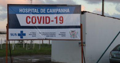 Prefeitura de Cupira monta hospital de campanha para receber pacientes suspeitos e infectados pela COVID-19