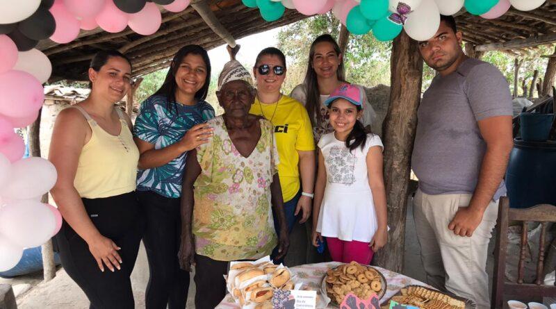 Equipe de vigilância e de epidemiologia realizam ação solidária em Sambaquim